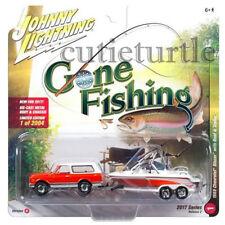 Johnny Lightning 1969 Chevrolet Blazer 1/64 Gone Fishing JLBT002 36F A Orange