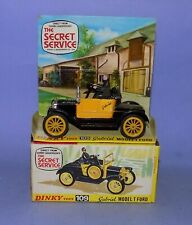 * RARE * MINT BOXED * 1969-1971 * DINKY TOYS * NO 109 * GABRIEL MODEL T FORD *