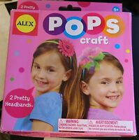 ALEX Toys POPS Craft 2 Pretty Headbands craft kit