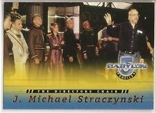 Babylon 5 Profiles Trading Cards The Directors Chair Chase Card DC5 Straczynski