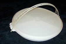 Vtg TUPPERWARE Divided Serving Tray w/ Handle & Seal *MAKES GREAT GIFT FILLED*