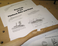 Build a Flintlock Rifle, Pistol Full Plans, Blueprints!!