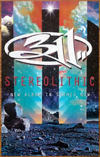 311 Stereolithic Ltd Ed Discontinued RARE Litho Poster +FREE Rock Poster! Mosaic