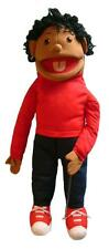 """Puppet girl nita 26"""" Ventriloquist.Play,Educational.Moving mouth and arm rod"""
