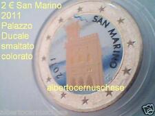 2 euro 2011 San Marino color farbe kleur couleur Palazzo Ducale Saint Marin