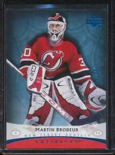 MARTIN BRODEUR 2004-05 UD ARTIFACTS BLUE PARALLEL  23/75