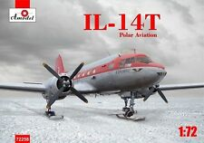 "Amodel 1/72 Ilyushin Il-14Т ""GABBIA"" Polar Expedition su sci'S # 72258"