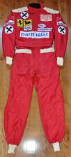 Niki Lauda - Autographed - Signed Replica 1975 - 1977 F1 Race Suit Overall Proof