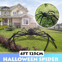 125mm Giant Spider Toy Halloween DecorHaunted House Outdoor Party Big Huge Doll