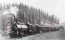 Colorado Springs & Cripple Creek District (CS&CCD) Engine 5 in 1901 - 8x10