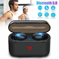 Mini Wireless Bluetooth Headsets In-Ear Earphones Sweatproof Earbuds Headphones
