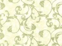 SSI Bouquet Gallery Beige & Green 100% Quilting Cotton Fabric 45in Wide SBY