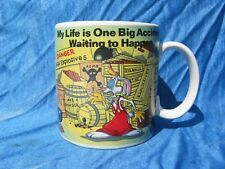 My Life is One Big Accident Waiting To Happen ROGER RABBIT Coffee Cup Mug Disney