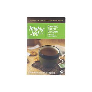 Mighty Leaf Tea Organic Green Dragon, 15 Count