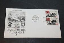 CIVIL WAR CENTENNIAL BATTLE of the WILDERNESS MAY 5, 1964  FIRST DAY COVER
