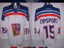 Czech Republic Xl Iihf Strida Olympics Ice Hockey Shirt Jersey Nhl Tipsport 15