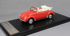 Premium X Volkswagen VW Beetle Convertible in Red 1973 PRD530 1/43 NEW Ltd Ed