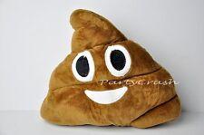 Poop Emoji Pillow Emoticon Stuffed Plush Toy Smiley Poop