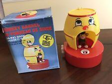 Vintage Monkey Barrel Saving Bank from 1980's in Original Box