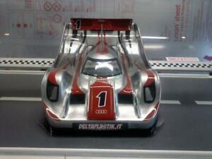 0167s -Delta Plastik R18 Speed Run RC Car Body 1/8 Scale GT 325mm  Clear Hobao