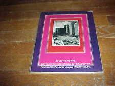 1975 Baltimore International Indoor Tournament Tennis Program