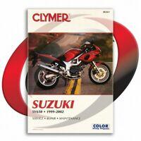 1999-2002 Suzuki SV650S Repair Manual Clymer M361 Service Shop Garage