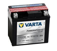 Varta Powersports AGM ytz7s-4 ytz7s-bs Batería de la Motocicleta 5Ah 12v