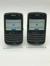 Lot of 2 Blackberry Bold 9650 Cell Phone Verizon with 2GB Micro SD memory card