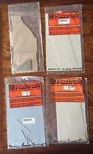 Plastructs Model Plastic Sheets HO Scale Lot of 4 Open Bags