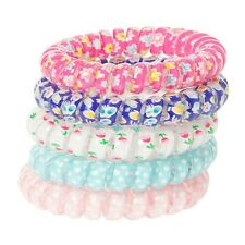 Claire's Club Spring Flower Hair Ties/Bracelets - 5 Pack