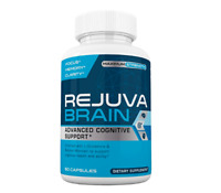 Rejuva Brain - Advanced Cognitive Support - Boosts Focus and Clarity - 60 caps
