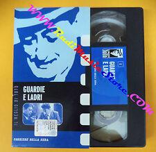 film VHS GUARDIE E LADRI Il meglio di Toto' CORRIERE DELLA SERA 2 (F104*) no dvd