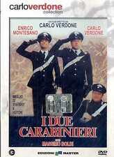 I DUE CARABINIERI Carlo Verdone Enrico Montesano DVD FILM SEALED Edit.