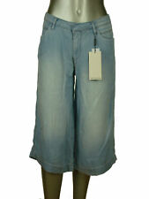 Calvin Klein Women's Denim Culottes Shorts Crystal Blue Wash W28