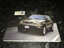 BMW X5 E53 HANDBOOK OWNERS MANUAL  2003-2006