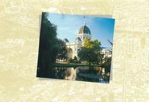 Postcard Australia Melbourne 1996 Royal exhibition building