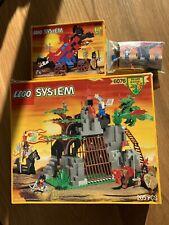 Vintage Lego Castle Sets 6076 6043 6020