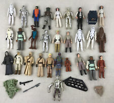 VINTAGE STAR WARS 28 FIGURE LOT 1977 KENNER NICE LOT! SOME ACCESSORIES!