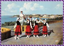 Carte Postale Pays Basque groupe Folklorique - Danse des pommes