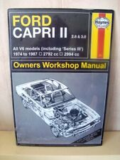 Ford Capri 2.8 & 3.0 Litres Metal Wall Sign    Mint Unused Still Wrapped