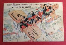CPA. Service Militaire. Classe. Fuite. Humour. Aéro. Avion.Halte Là. 1921. E. R.