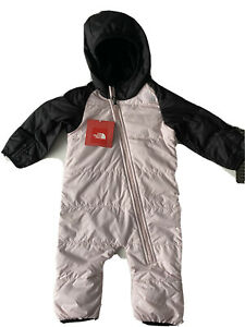 THE NORTH FACE INFANTS 3-6 m ONE PIECE SNOWSUIT  INSULATED PUFFY COZY BUNTING