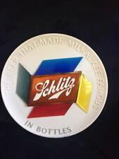 Schlitz Beer Reflector Sign - Vintage 1950s - Round - Hard to Find