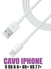 CAVO USB 8 PIN PER APPLE IPHONE 5/5S/SE/6/6S/8/X/6 7 8 PLUS/IPOD/IPAD AIR CABLE