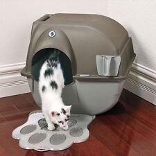 self cleaning cat litter box large kitty supplies automatic regular pet clean
