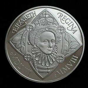 2008 Great Britain Elizabeth II - £5 Five Pound Elizabeth I Proof Crown Coin