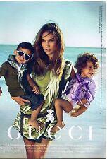 Publicité Advertising 2011 haute Couture Gucci avec Jennifer Lopez pour UNICEF
