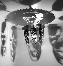 Skull light, hanging skulls Chandelier, home and living, home decor, gift, light