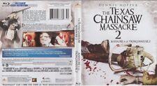 TEXAS CHAINSAW MASSACRE 2 BLU RAY Movie Great Gift- Brand New (HMV-126/HMV-16)