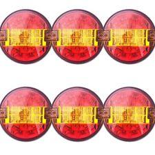 6x LED Rückleuchte Rund ⌀140 Positionsleuchte Bremsleuchte Blinker Anhänger LKW